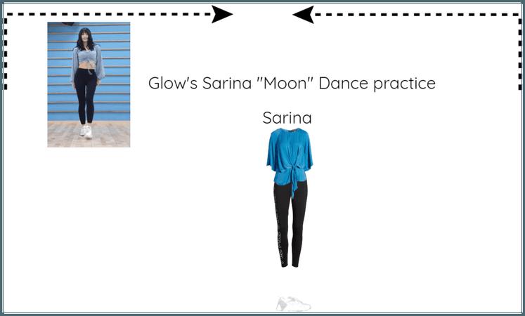 "Glow's Sarina ""Moon"" Dance practice"