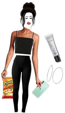hot Cheeto girl