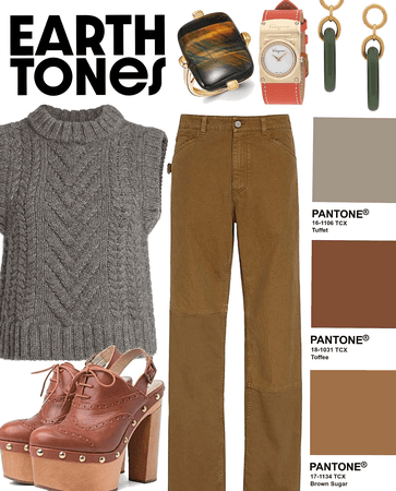 Earth Tones | NEW Challenge