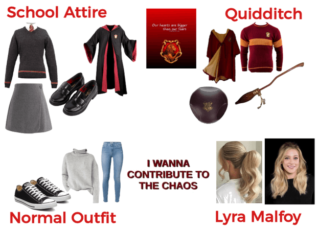 Lyra Malfoy Outfits