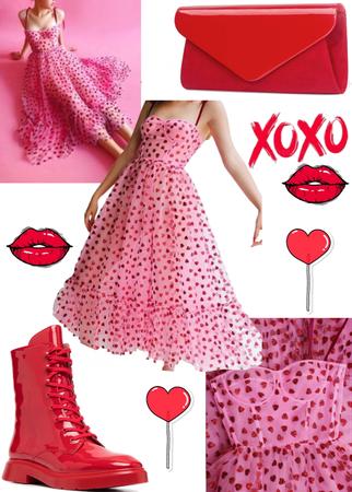 Polka Dot Hearts 💖❤️