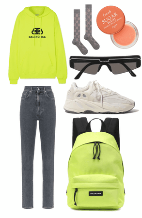 Back to school with the neon trend