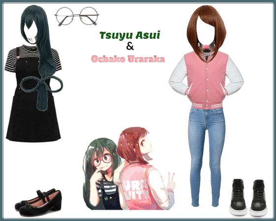 Mha ships Tsuyu & Ochako