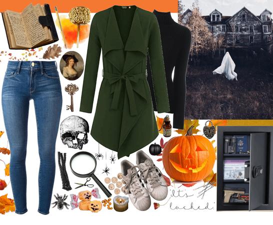 A Nancy Drew Halloween