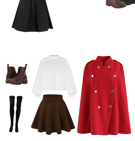 Durmstrang Outfit Shoplook #durmstrang once had the darkest reputation of all 11 wizarding schools, though this was never durmstrang, which has turned out many truly great witches and wizards, has previously fallen under. durmstrang outfit shoplook