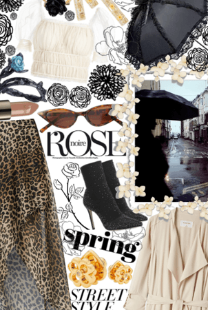 Spring Street Style: Noire Rose