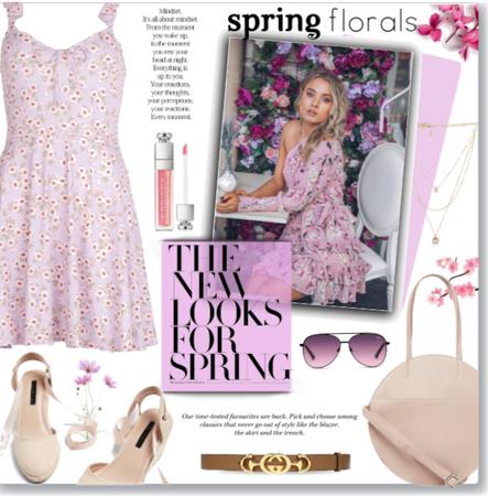 Spring Mid Dress