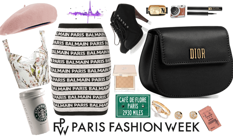 LET'S GO TO PARIS FASHION WEEK