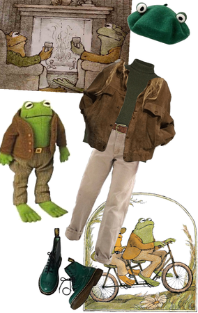 Frog and Toad Costume