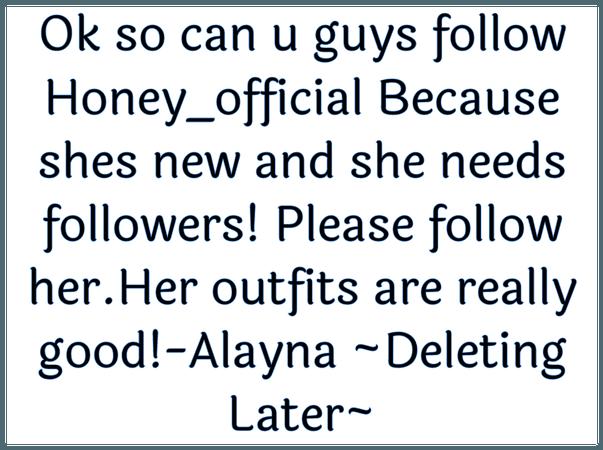 Please follow Honey_official