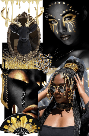 Black and Gold: A Queen's Story