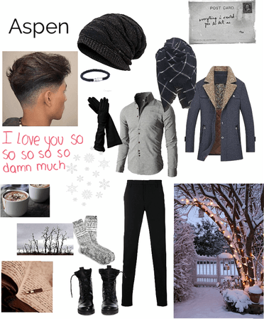 Winter character: Aspen