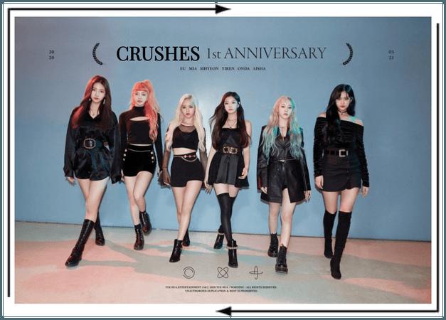 Crushes (호감) 1st year anniversary