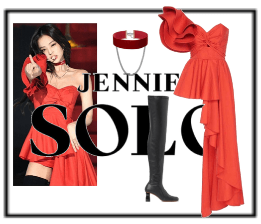 Jennie SOLO Outfit