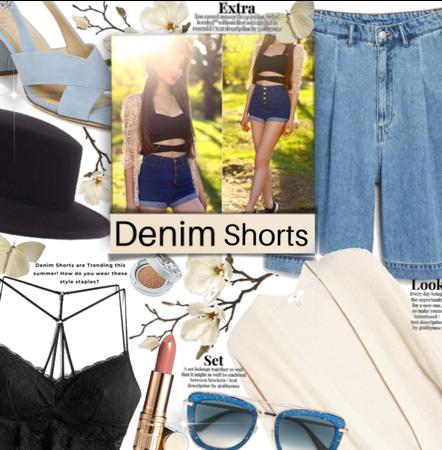 Denim Shorts Style.