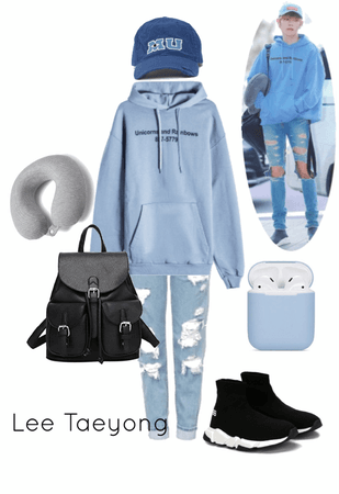 Casual/Airport/Lee Taeyong inspired