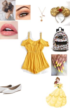 Belle Disneybound