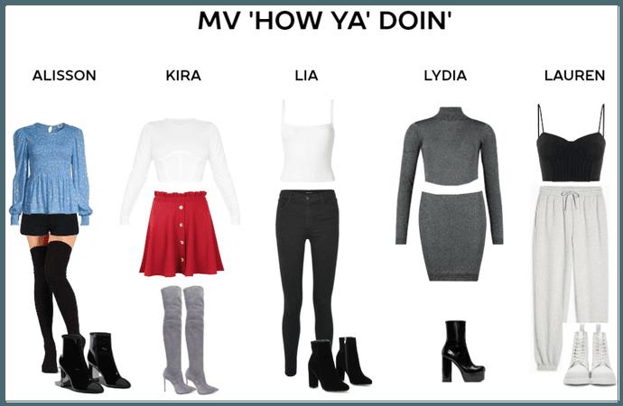 Cute Friday MV 'How ya' doin'