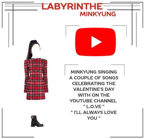 LABYRINTHE minkyung for the valentine day