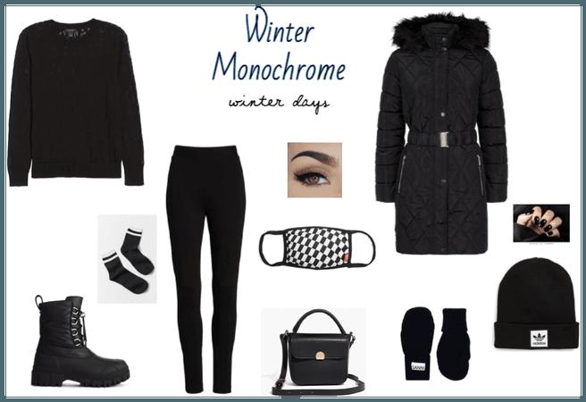 Winter Monochrome-black
