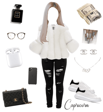 capricorn star sign outfit xx