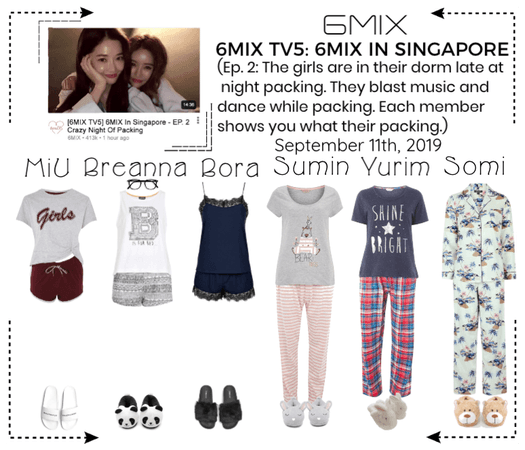 《6mix》6MIX TV5: 6MIX In Singapore - Ep. 2