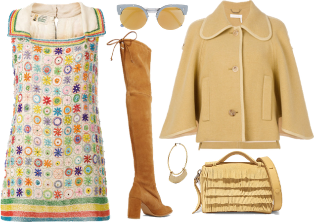 Bring Back the 60's Beads and Go Go Boots