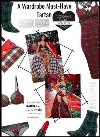 Wardrobe Must: Tartan/Victoria Secret Inspiration