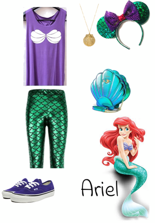 The Little Mermaid Disney bound