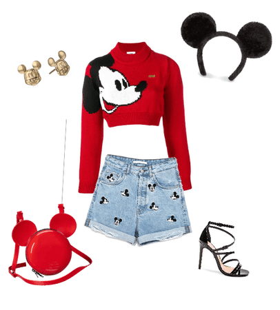 Mickey the Mouse outfit