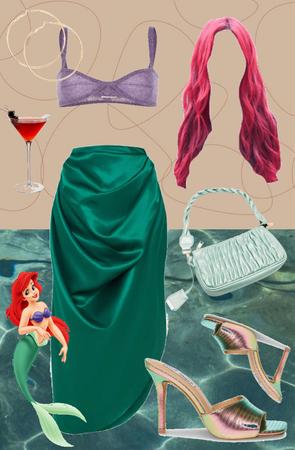 Ariel for Halloween