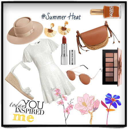 White and Brown #Summer Heat