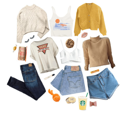 make a beach aesthetic outfit