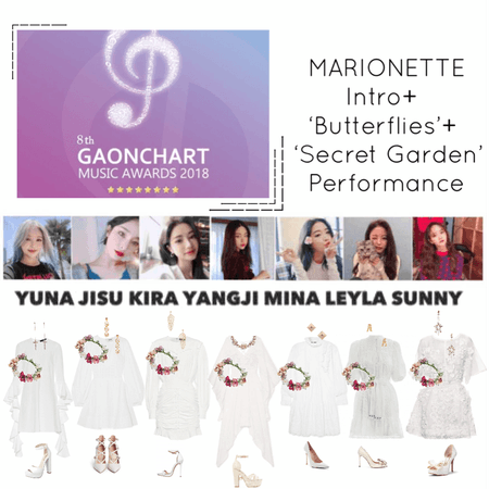 {MARIONETTE}' Gaon Chart Awards 2019 Intro + 'Butterflies' + 'Secret Garden' Performance