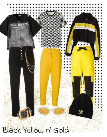 Black Yellow n' Gold