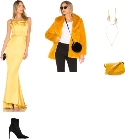 Yellow Prom&Formal