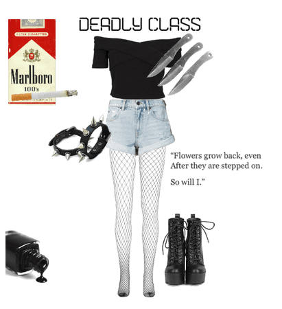 Deadly Class Outfit 5