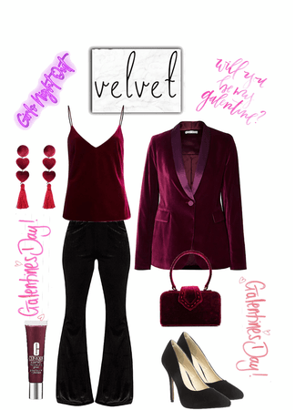 Galentine's Day in Velvet