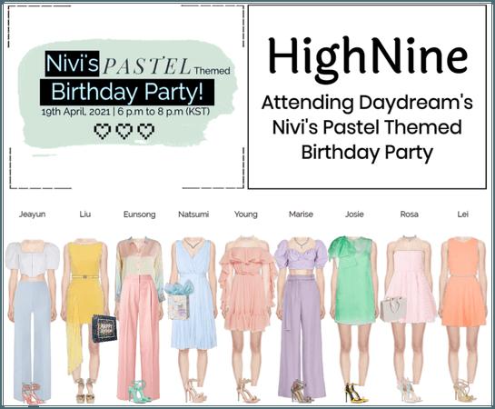 HighNine (하이 나인) Daydream's Nivi's Birthday Party
