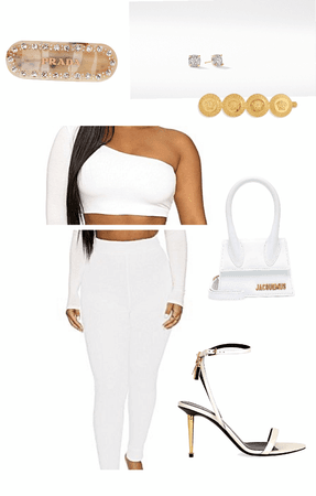 ALL WHITE 🤩