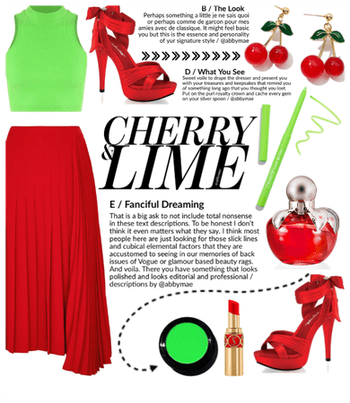 SUMMER 2020: Cherry + Lime Style