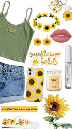 sunflower shopping spree 🌻🌻🌻