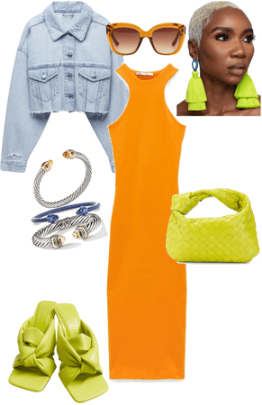 Zara neon vibes
