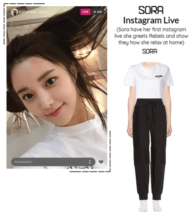 BGU [Sora] Instagram Live
