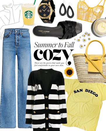 summer to fall cozy