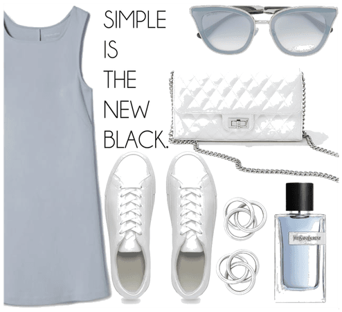 blue simpleness