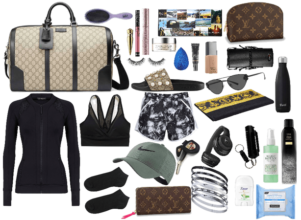 Martha Wayne~What's In Her Fitness Bag.