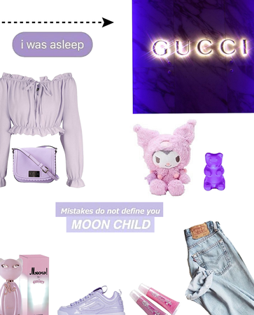 purple aesthetic ( @we_girl comp)