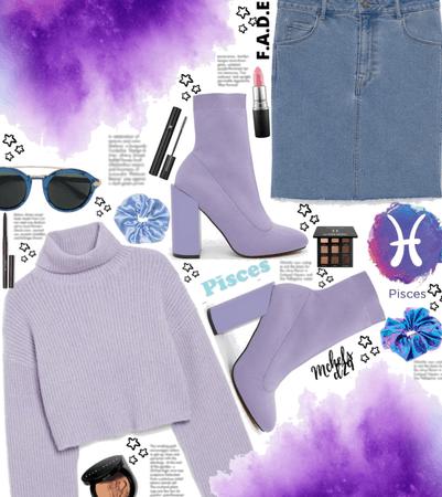Purple Pisces ♓️
