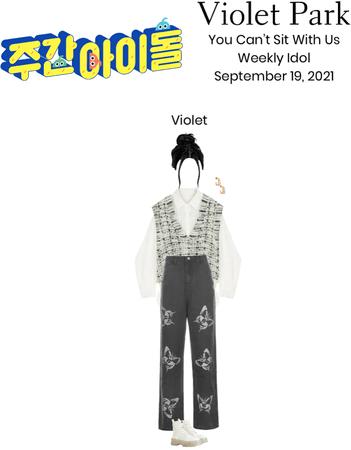 Violet Park   Weekly Idol